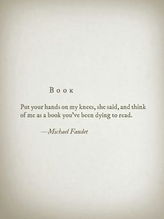 "~Michael Faudet  ""... so, now read me!"" ~js"