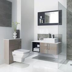 Mereway Adriatic Cappuccino Gloss Combination Bathroom