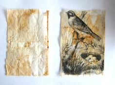 Judy Coates Perez: Tutorial how to print on teabags