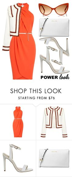 """my power look"" by whyfashionblog on Polyvore featuring moda, Miss Selfridge, Ganni, Michael Kors e Tom Ford"