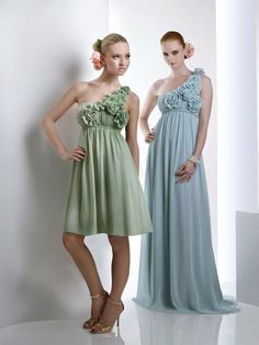 Order cheap short bridesmaid dresses online and complete the perfect look you have been dreaming of. Bari Jay Bridesmaid Dresses, Maternity Bridesmaid Dresses, Green Wedding Dresses, One Shoulder Bridesmaid Dresses, Prom Dresses, Wedding Bridesmaids, Shoulder Dress, Wedding Attire, Bridesmaid Colours