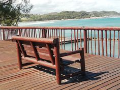 East London – resting benches on the Boardwalk at Gonubie  – wanaabeehere
