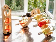 Wooden Wine Rack by RackPack