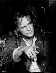 "Marlon Brando ""The Nightcomers"" 1972"