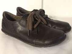 Men's Size 8.5 Patagonia Loulu T50545 Velvet Brown Leather Casual Oxfords 41.5