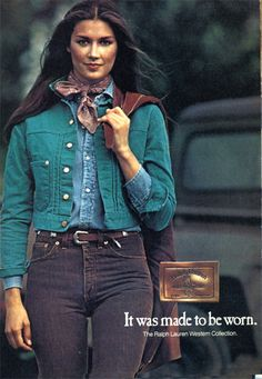 Ralph Lauren Collection 1970's this is how we dressed in the 70s. looks like Patti