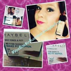 #fitmefoundation#influester#voxbox got it for free the new matte+poreless foundation number 122