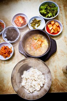 Korean healthy and delicious food