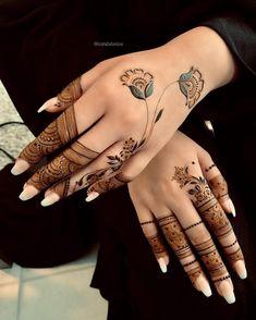 Design mehndi a 140 dita alla moda e mozzafiato per le spose – Henna desi… – Henna 2020 Modern Henna Designs, Latest Henna Designs, Mehndi Designs 2018, Henna Art Designs, Mehndi Designs For Beginners, Mehndi Design Photos, Mehndi Designs For Fingers, Beautiful Henna Designs, Mehndi Designs For Hands