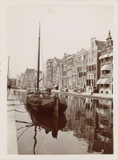James Higson | Rokin in Amsterdam, James Higson, 1904 |