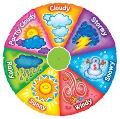 Weather Wheel: Classroom Learning & Decor by Mark Engblom at Coroflot.com