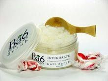 Refreshingly minty Invigorate Salt Scrub from Ba6 Botanicals