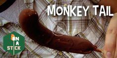 Monkey Tail - http://onastickpodcast.com/monkey-tail/?utm_source=Pinterest&utm_medium=On+A+Stick+Pinterest&utm_campaign=SNAP%2Bfrom%2BOn+A+Stick