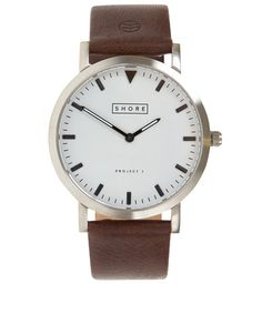Shore Projects Dark Brown Poole Watch