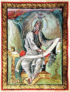 Evangelari Ebbo- Sant Joan- (816-830) Reims