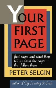 Your First Page Selgin