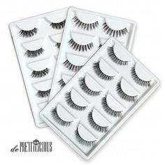 de Prettilicious Different style) Natural False Eyelashes Set. CHRISTMAS SALE NOW! Best gift for her, perfect for Thanksgiving and Christmas presents. ** Be sure to check out this awesome product. Natural False Eyelashes, Fake Eyelashes, Eyelash Sets, House Of Lashes, Best Gifts For Her, My Makeup Collection, Eyelash Extensions, Different Styles, Cool Things To Buy