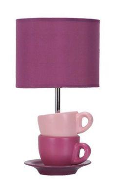 Déco intérieur violet   Lampe déco Breakfast Violette - Luminaire