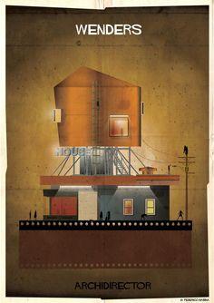 Yönetmenler Mimar olsaydı yaptıkları evler nasıl olurdu?  Wim Wenders