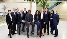 Investment Firm Staff Portraits and Group Photography in London Offices…