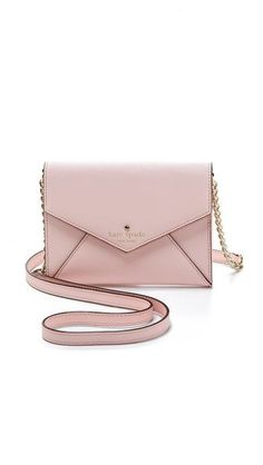 Kate Spade New York Cedar Street Monday Cross Body Bag. Pastel handbag a must for this spring!
