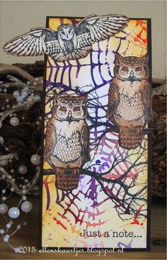 Art Journey Design-team: Owls Mini Books, Drawing Journal, Atc, Art Journals, Owls, Fun Crafts, Stamps, Journey, Birds