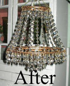 Semi diy spring decorating modern beach pop diy manualidades diy chandelier tutorial aloadofball Gallery