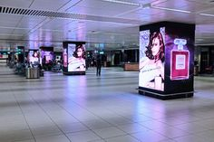 Advertising at Rome Fiumicino Airport gets a digital makeover - Retail Focus - Retail Blog For Interior Design and Visual Merchandising