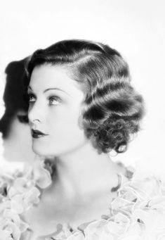 Todays 1930s hair and makeup inspiration from Myrna Loy (August 2, 1905 – December 14, 1993)