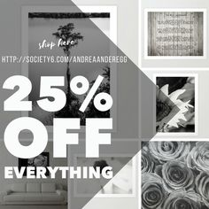 SHOP HERE: http://society6.com/andreaanderegg = 25% Off Everything  Starts: Tuesday, 12/12/17 at 12:00am PT Ends: Tuesday, 12/12/17 at 11:59pm PT = #wallart #artsale #discount #artcollector #uniquegifts #homedecor  #interiordesign #christmasgifts #holidaygifts #fineart #fineartphotography #sale #onlineshopping #trendy #art #andreaanderegg #inspirational #bibleverse #poem #quotes #fineartprints