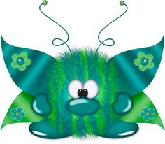"Photo from album ""Пушистики"" on Yandex. Funny Monsters, Cartoon Monsters, Little Monsters, Cute Images, Cute Pictures, Monster Clipart, Smileys, Cute Dragons, Clip Art"