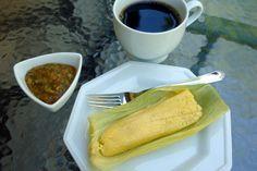 humita con ají y café. laylita.com