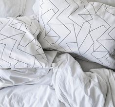 Pattern Pillowcases Electric Set of 2 Designer by ZanaProducts
