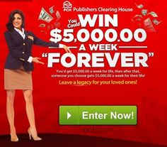 Image result for PCH Clearing House Sweepstakes Entry . Instant Win Sweepstakes, Online Sweepstakes, Helping Other People, Helping Others, Pch Dream Home, Win For Life, Winner Announcement, Publisher Clearing House, Winning Numbers