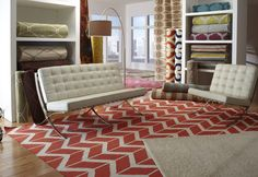 Look at these gorgeous Fallon rugs from Surya!