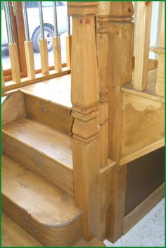 Berriew Provincial Softwood Staircase Banisters, Glass Panels, Case Study, Bunk Beds, Hardwood, Stairs, Staircases, Pine, Furniture