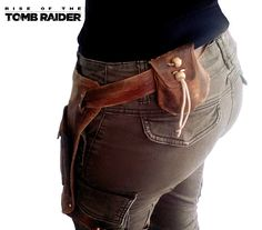 Répliques: Sacoche à balles- Lara Croft tomb raider - Faite main - Cosplay : Autres sacs par figurinesheros