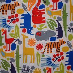 Zoo fabric
