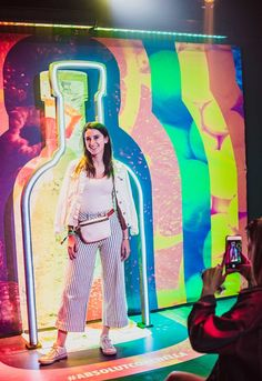 Inside Absolut's Vibrant, Sustainable Footprint at Coachella – ceostory - Event Exhibition Stand Design, Exhibition Booth, Display Design, Booth Design, Banner Design, Stage Design, Event Design, Bar Deco, Photo Zone