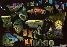 Rayman Legends environment