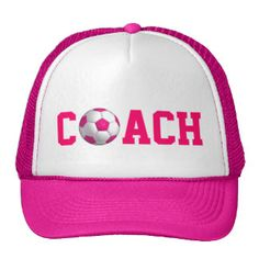 Customisable soccer coach gifts - t-shirts, posters, mugs, accessories and more from Zazzle. Choose your favourite soccer coach gift from thousands of available products. Soccer Coach Gifts, Coach Hats, Mermaid Barbie, Ghetto Fabulous, Wedding Shoppe, Pink Hat, Team Bride, My Princess, Pink Flowers