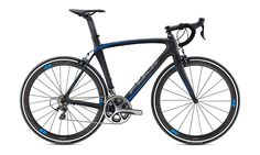 "Fuji's SST series is their ""Super Stiff Team"" series. It's basically a sprinter bike, designed for maximum stiffness. Their 1.1 uses C10 Ultra High-Modulus carbon, and an FC-330 carbon fork. Equipped with Shimano Dura-Ace 9000 mechanical, and carbon alloy clinchers. MSRP: $4740"