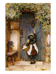 The Visitor Giclee Print by Arthur Hopkins