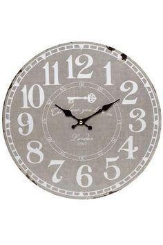 Ceas de Perete London Lemn 34x34 cm Vintage London, Best Sellers, Clock, Design, Home Decor, Products, Deco, Home Decor Accessories, Monochrome