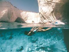 Sarakiniko Beach, Greece Culture, Greece Honeymoon, Greece Travel, Greece Trip, Greece Holiday, Crystal Clear Water, Fishing Villages, Greece