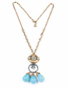 Long necklace pendant jewelry