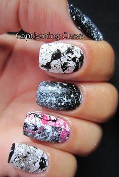Captivating Claws: Monochrome Monday!!
