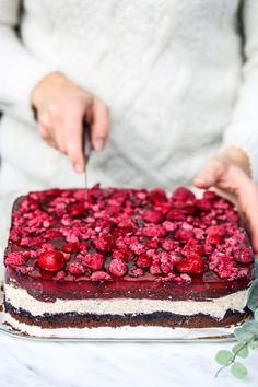 Ciasto Delicja - przepis Marty Raspberry, Lemon, Drink, Fruit, Food, Bakken, Beverage, Essen, Meals