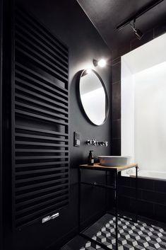 Фото из статьи: Крошечная квартира: 27 квадратных метров, где поместились кухня, столовая, спальня и черный санузел