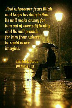 Qur'an verse :Surah At Talaq